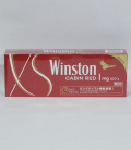 WINSTON CABIN RED ONE 100S BOX